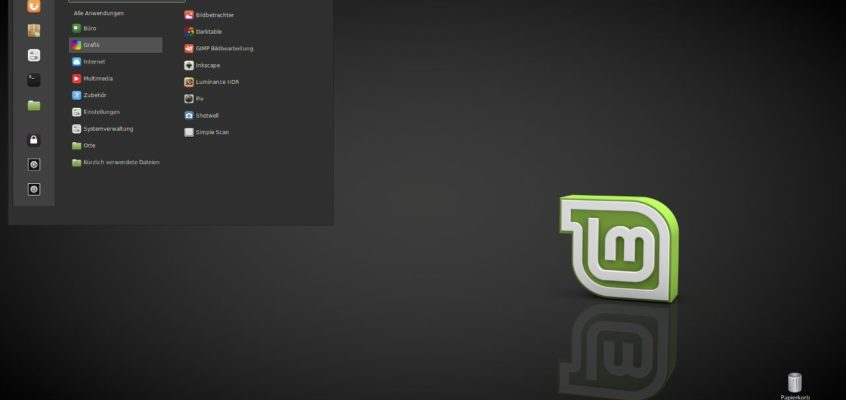 Linux Mint 18 Desktop-Theme Mint-Y