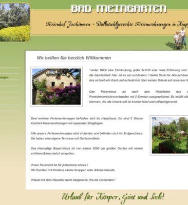 Ferienhof Jochimsen – rollstuhlgerechte Ferienwohnungen