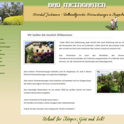 Ferienhof Jochimsen - rollstuhlgerechte Ferienwohnungen
