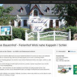 Ferienhof Wick - Urlaub an der Ostsee