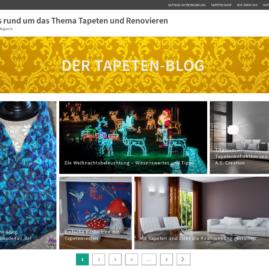 Tapeten-Blog