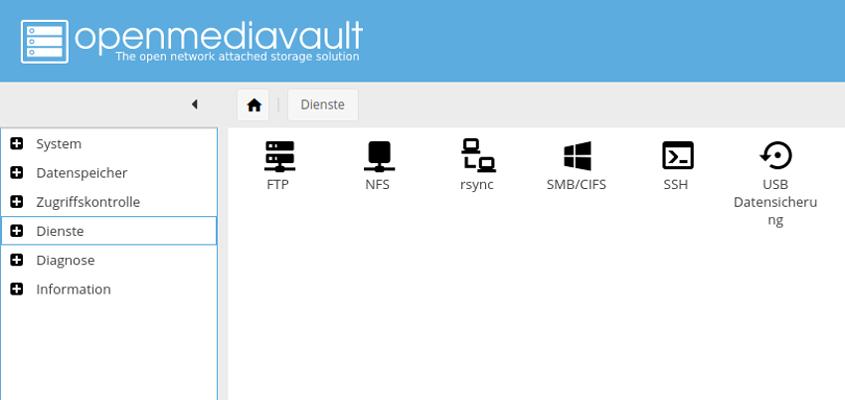 openmediavault per rsync mit hidrive verbinden